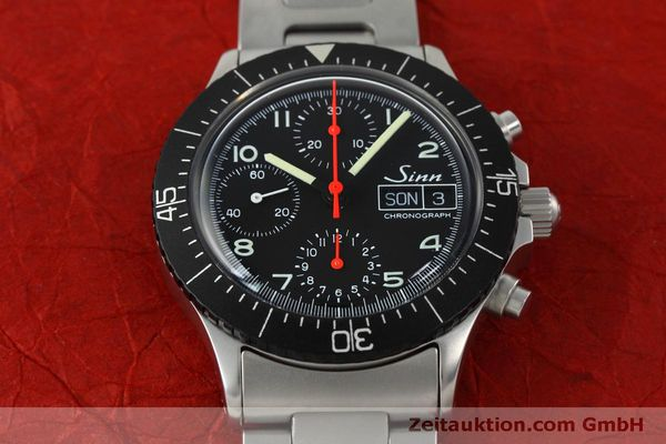 Used luxury watch Sinn 256 chronograph steel automatic Kal. ETA 7750 Ref. 256.1055  | 152378 14