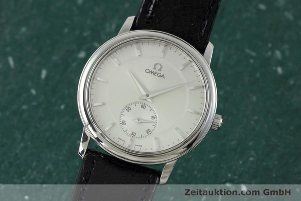 Used luxury watch Omega De Ville steel manual winding Kal. 651  | 152382 04