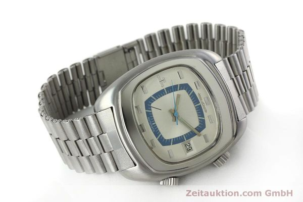 Used luxury watch Jaeger Le Coultre Memovox steel automatic Kal. 916 Ref. E871 VINTAGE  | 152383 03