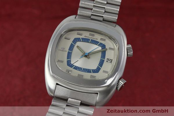 Used luxury watch Jaeger Le Coultre Memovox steel automatic Kal. 916 Ref. E871 VINTAGE  | 152383 04