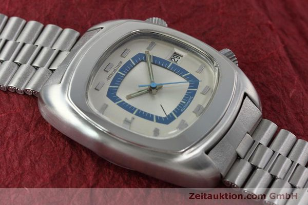 Used luxury watch Jaeger Le Coultre Memovox steel automatic Kal. 916 Ref. E871 VINTAGE  | 152383 14