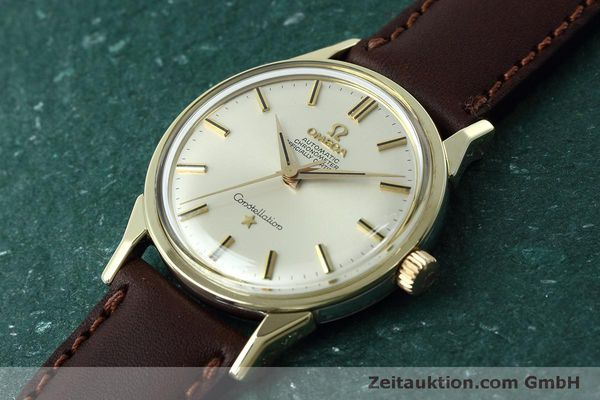 Used luxury watch Omega Constellation gold-plated automatic Kal. 551 VINTAGE  | 152384 01