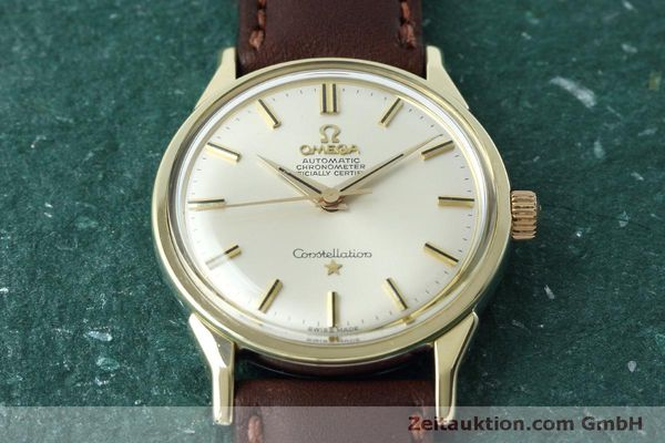 Used luxury watch Omega Constellation gold-plated automatic Kal. 551 VINTAGE  | 152384 14