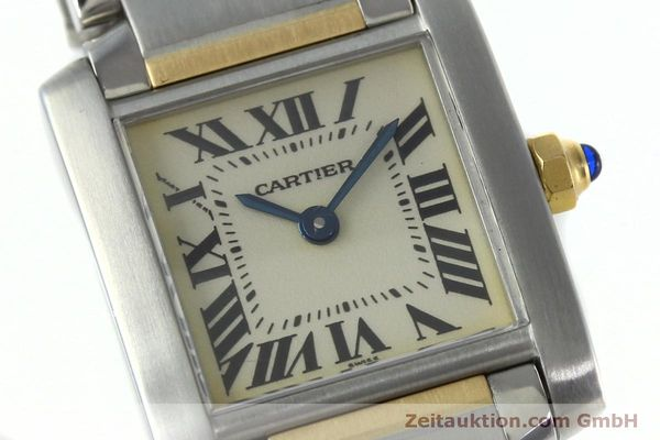 Used luxury watch Cartier Tank Francaise steel / gold quartz Kal. 016 Eta 281002 Ref. 2300  | 152387 02