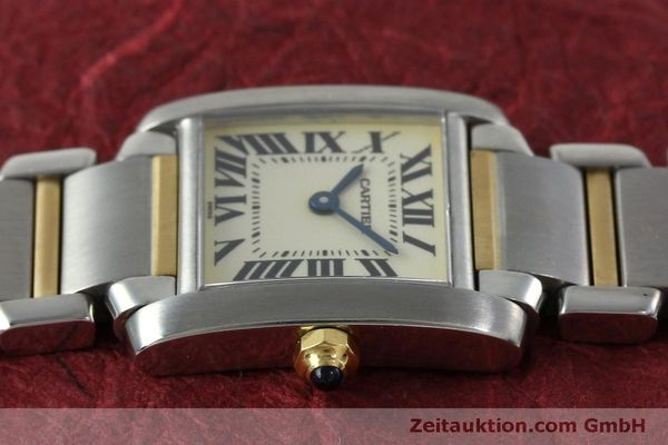 Used luxury watch Cartier Tank Francaise steel / gold quartz Kal. 016 Eta 281002 Ref. 2300  | 152387 05