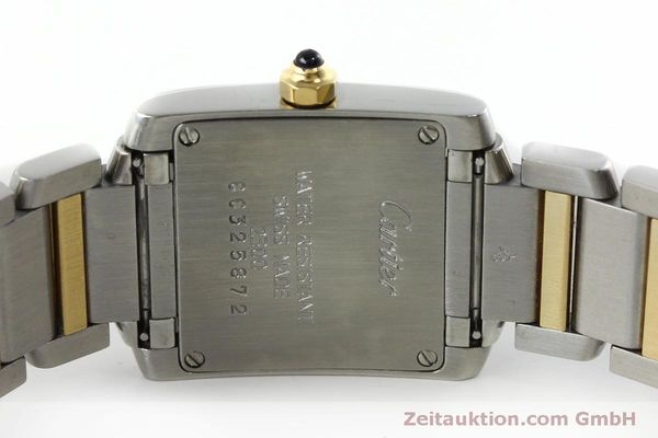 Used luxury watch Cartier Tank Francaise steel / gold quartz Kal. 016 Eta 281002 Ref. 2300  | 152387 09