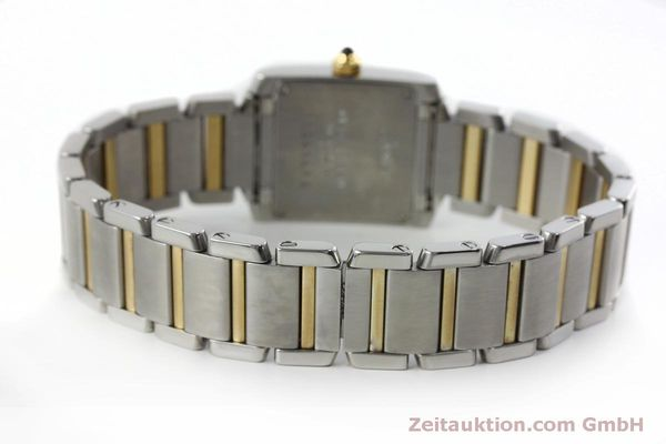 Used luxury watch Cartier Tank Francaise steel / gold quartz Kal. 016 Eta 281002 Ref. 2300  | 152387 10
