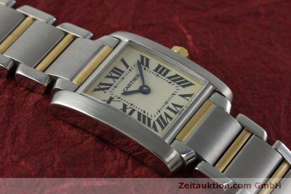 Used luxury watch Cartier Tank Francaise steel / gold quartz Kal. 016 Eta 281002 Ref. 2300  | 152387 12