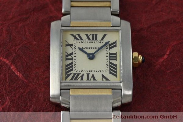 Used luxury watch Cartier Tank Francaise steel / gold quartz Kal. 016 Eta 281002 Ref. 2300  | 152387 13