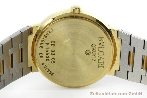 Used luxury watch Bvlgari Bvlgari 18 ct gold quartz Kal. ETA 955412 Ref. BB33GS  | 152388 09