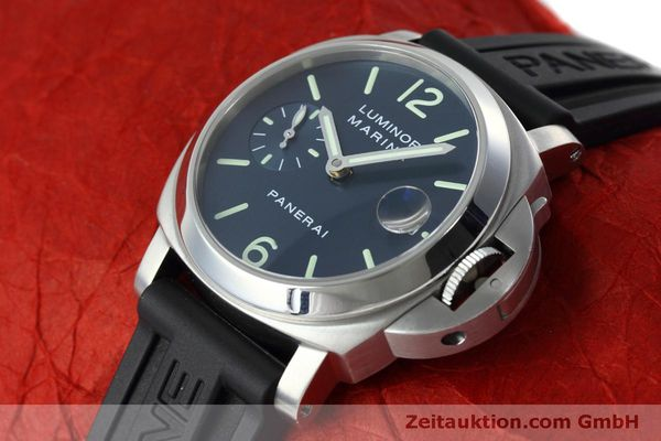 Used luxury watch Panerai Luminor  steel automatic Kal. ETA 05511 Ref. OP6560  | 152392 01