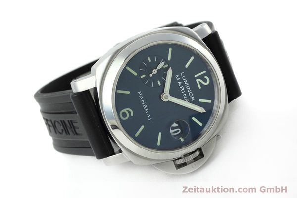 Used luxury watch Panerai Luminor  steel automatic Kal. ETA 05511 Ref. OP6560  | 152392 03