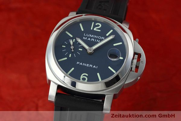 Used luxury watch Panerai Luminor  steel automatic Kal. ETA 05511 Ref. OP6560  | 152392 04