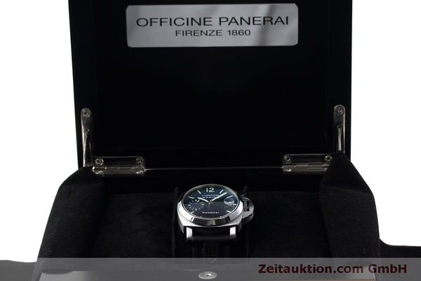 Used luxury watch Panerai Luminor  steel automatic Kal. ETA 05511 Ref. OP6560  | 152392 07