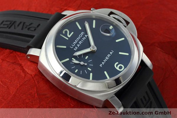 Used luxury watch Panerai Luminor  steel automatic Kal. ETA 05511 Ref. OP6560  | 152392 16