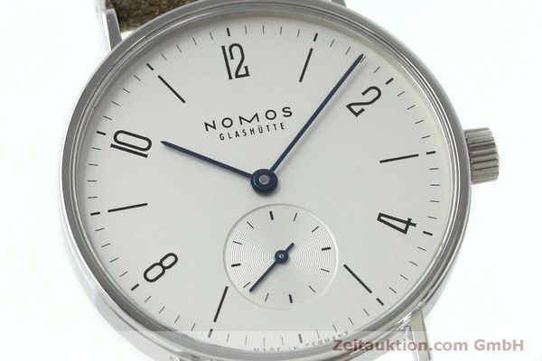 Used luxury watch Nomos Tangente steel manual winding Kal. Alpha 92474  | 152393 02