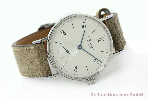 Used luxury watch Nomos Tangente steel manual winding Kal. Alpha 92474  | 152393 03