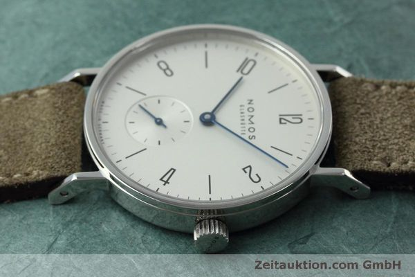 Used luxury watch Nomos Tangente steel manual winding Kal. Alpha 92474  | 152393 05