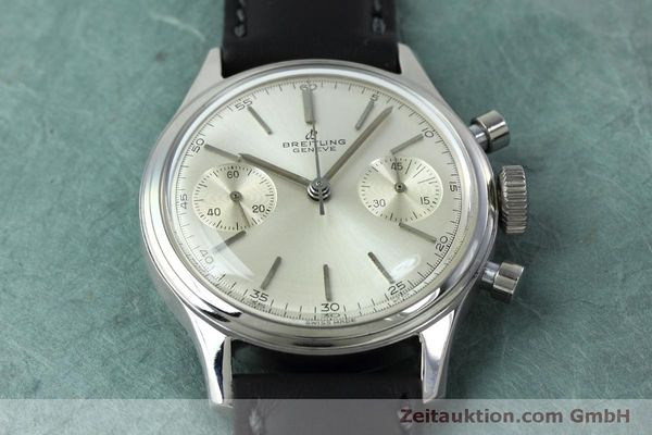 Used luxury watch Breitling * chronograph steel manual winding Ref. 790 VINTAGE  | 152398 13