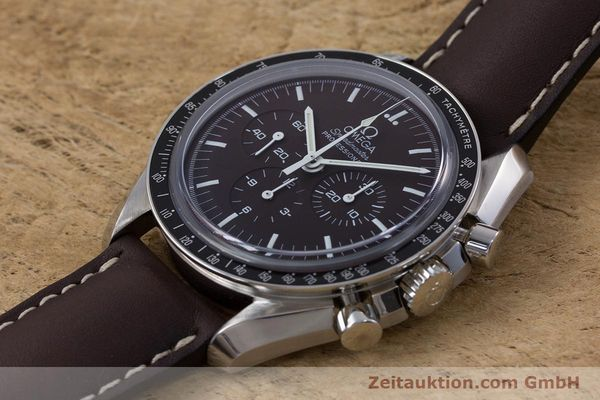 Used luxury watch Omega Speedmaster chronograph steel manual winding Kal. 1863 Ref. 145.0811  | 152399 01