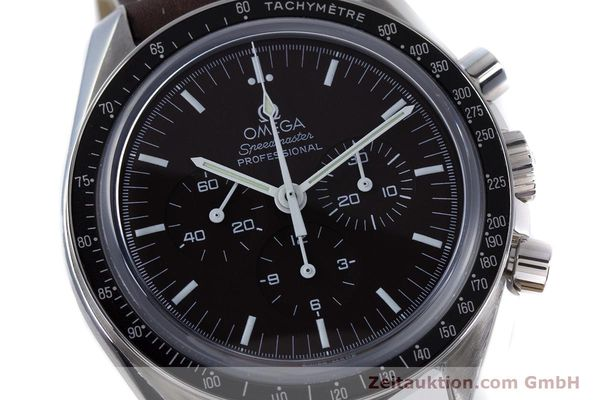 Used luxury watch Omega Speedmaster chronograph steel manual winding Kal. 1863 Ref. 145.0811  | 152399 02