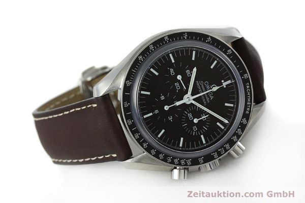 Used luxury watch Omega Speedmaster chronograph steel manual winding Kal. 1863 Ref. 145.0811  | 152399 03