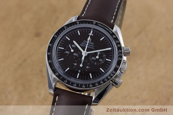 Used luxury watch Omega Speedmaster chronograph steel manual winding Kal. 1863 Ref. 145.0811  | 152399 04