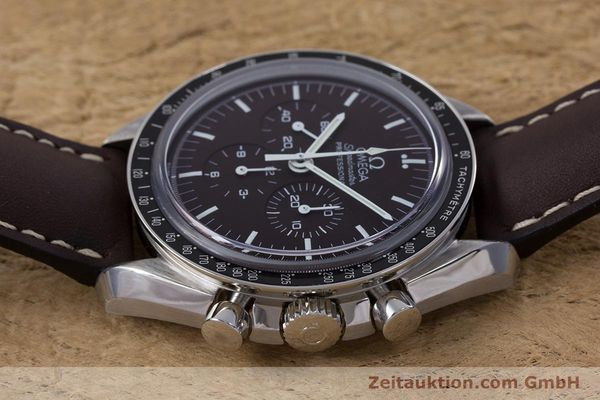 Used luxury watch Omega Speedmaster chronograph steel manual winding Kal. 1863 Ref. 145.0811  | 152399 05