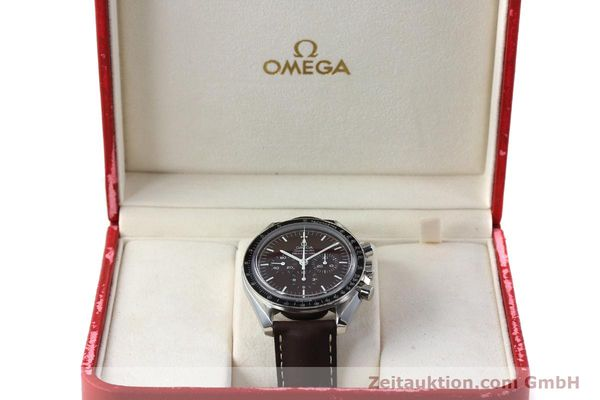 Used luxury watch Omega Speedmaster chronograph steel manual winding Kal. 1863 Ref. 145.0811  | 152399 07