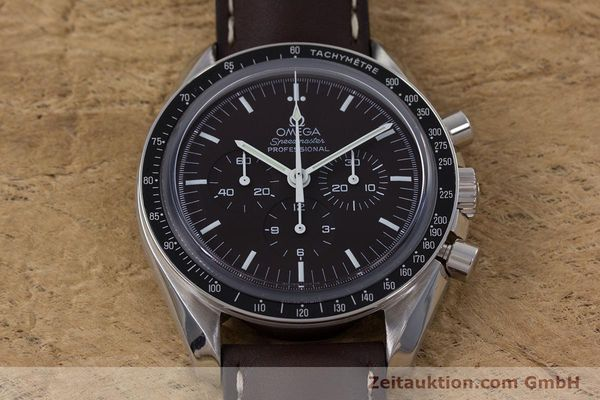 Used luxury watch Omega Speedmaster chronograph steel manual winding Kal. 1863 Ref. 145.0811  | 152399 15