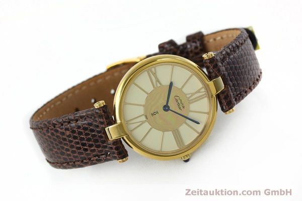 Used luxury watch Cartier Vermeil silver-gilt quartz Kal. 81  | 152401 03