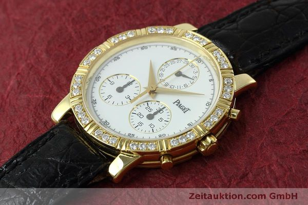 montre de luxe d occasion Piaget * or 18 ct quartz Kal. 202P Ref. 14014  | 152409 01