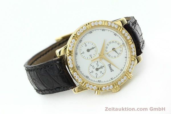 montre de luxe d occasion Piaget * or 18 ct quartz Kal. 202P Ref. 14014  | 152409 03