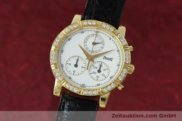montre de luxe d occasion Piaget * or 18 ct quartz Kal. 202P Ref. 14014  | 152409 04