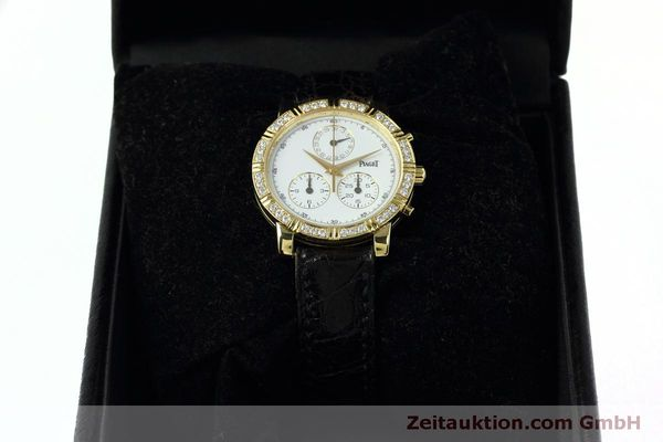 montre de luxe d occasion Piaget * or 18 ct quartz Kal. 202P Ref. 14014  | 152409 07