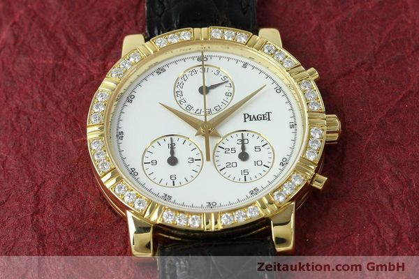 montre de luxe d occasion Piaget * or 18 ct quartz Kal. 202P Ref. 14014  | 152409 16