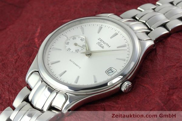 Used luxury watch Zenith Elite steel automatic Kal. 680 Ref. 90/01 0040 680  | 152412 01