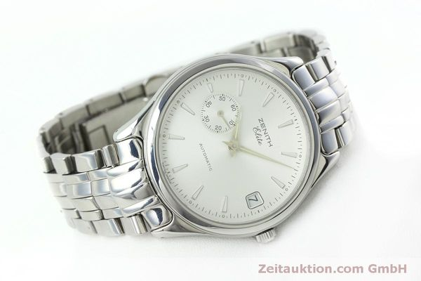 Used luxury watch Zenith Elite steel automatic Kal. 680 Ref. 90/01 0040 680  | 152412 03
