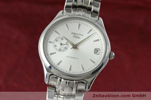 Used luxury watch Zenith Elite steel automatic Kal. 680 Ref. 90/01 0040 680  | 152412 04