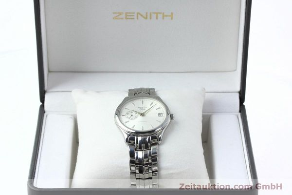 Used luxury watch Zenith Elite steel automatic Kal. 680 Ref. 90/01 0040 680  | 152412 07