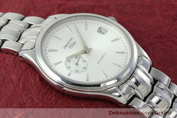Used luxury watch Zenith Elite steel automatic Kal. 680 Ref. 90/01 0040 680  | 152412 15