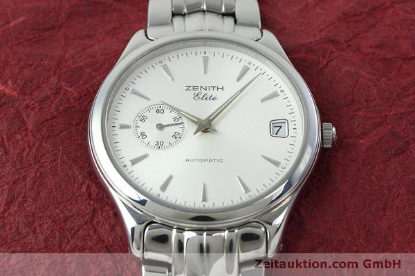 Used luxury watch Zenith Elite steel automatic Kal. 680 Ref. 90/01 0040 680  | 152412 16