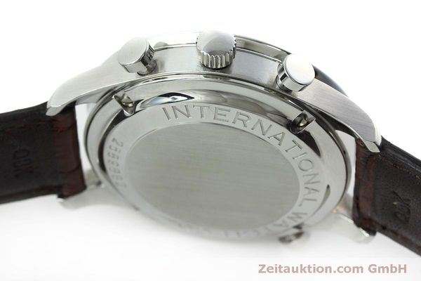 Used luxury watch IWC Portugieser chronograph steel manual winding Kal. 76240 Ref. 3712  | 152413 13