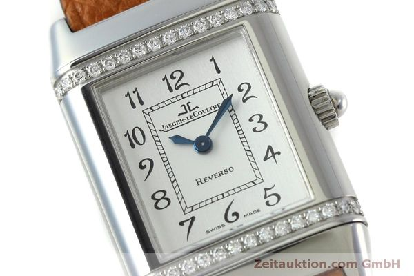 Used luxury watch Jaeger Le Coultre Reverso steel quartz Kal. 608 Ref. 265.8.08  | 152418 02