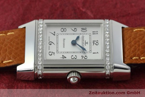 Used luxury watch Jaeger Le Coultre Reverso steel quartz Kal. 608 Ref. 265.8.08  | 152418 05