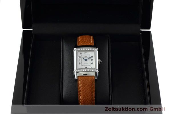 Used luxury watch Jaeger Le Coultre Reverso steel quartz Kal. 608 Ref. 265.8.08  | 152418 07