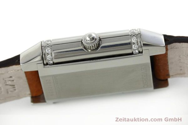 Used luxury watch Jaeger Le Coultre Reverso steel quartz Kal. 608 Ref. 265.8.08  | 152418 08