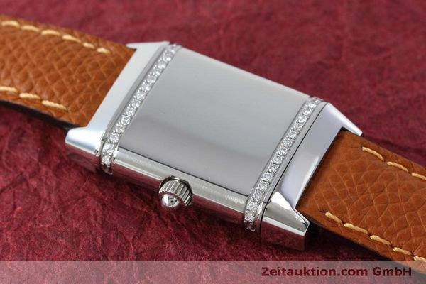 Used luxury watch Jaeger Le Coultre Reverso steel quartz Kal. 608 Ref. 265.8.08  | 152418 12