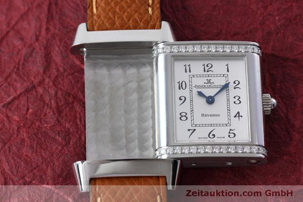 Used luxury watch Jaeger Le Coultre Reverso steel quartz Kal. 608 Ref. 265.8.08  | 152418 13
