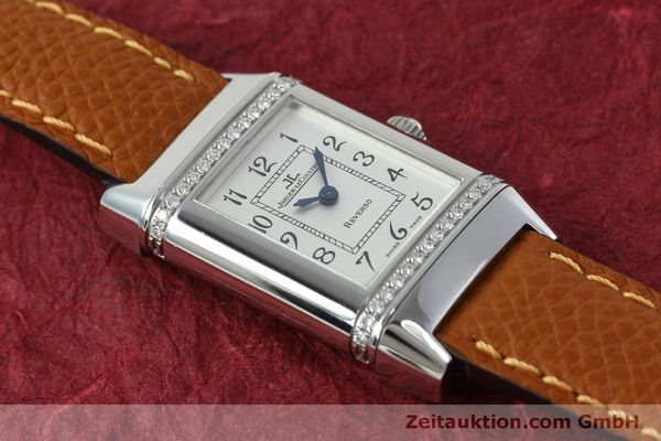 Used luxury watch Jaeger Le Coultre Reverso steel quartz Kal. 608 Ref. 265.8.08  | 152418 14